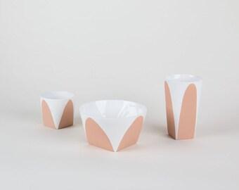 Arc Ceramics - SAND/WHITE