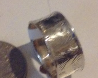 Thumb ring in 925 silver