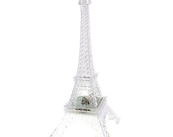 Acrylic Eiffel Tower LED Light, 10-inch