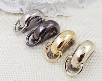 1.2 inch bridge buckle ,belt buckle , strap buckle 10pcs ( attach with screws and washers)