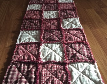 Rag Table runner
