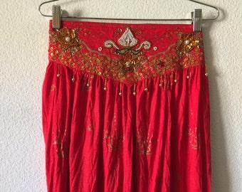 Vintage Red Pants