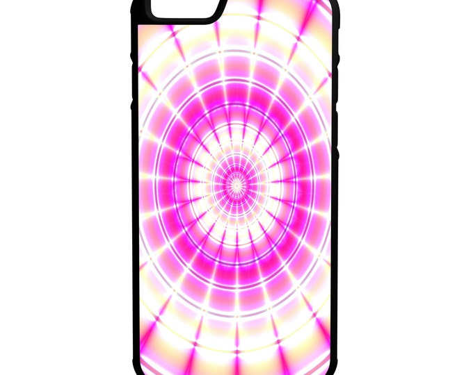 Pink Tie Dye iPhone Galaxy Note LG HTC Hybrid Rubber Protective Case