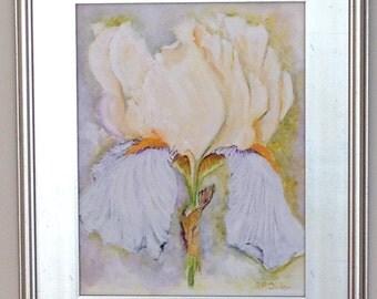 "Original Oil Painting ""Iris"""