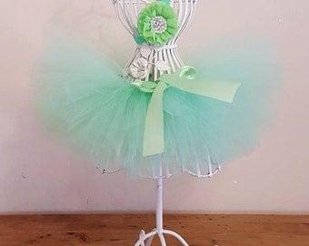 Mint Green Tutu- Tutus for Children, Birthday Tutu, Newborn Photo Prop