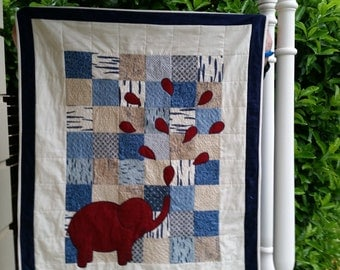 Baby quilt or play mat
