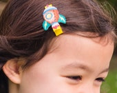 Rocket Hair Clip Barrette