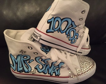 Quinceanera Sneakers/Shoes/not original converse