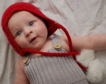 Baby boy Christmas hat,baby girl Christmas hat, photo prop, Baby's first christmas, baby christmas gift, Christmas bonnet 6-12mths