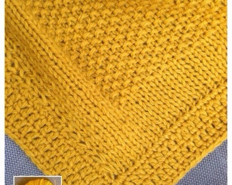 Mustard yellow wool cover
