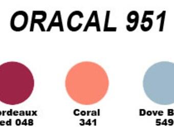 """ORACAL 951 12""""x 24"""" /1-sheet"""
