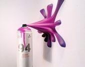 MTN94 Splash Spraycan Graffiti Sculpture