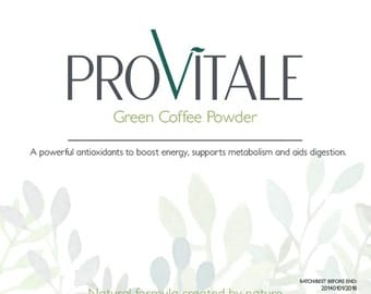Provitale Green Coffee