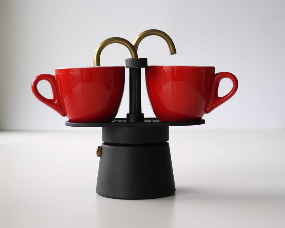 How Do You Say Coffee Maker In Italian : Vintage Italian coffee maker Bialetti 2 cups Moka Mini