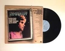 SEPTEMBER SALE Stardust Original Soundtrack Recording Double LP Album 1975 Jefferson Airplane Aretha Franklin Stray Cats Vinyl Record