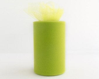 Lime Tulle Roll 6in x 300ft  (100 yards)