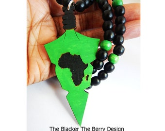 African wood pendant etsy aloadofball Image collections