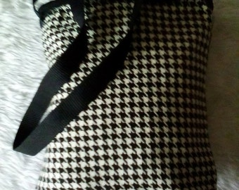 Black & White Occasional Bag