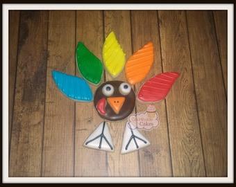 Build a Turkey Thanksgiving Cookies -Single Set