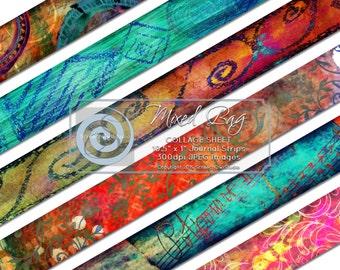 ONE DOLLAR SALE Collage Sheet, Junk Journal Elements, Washi Tape, Embellishments, Scrapbooking, Card Making, Paper Craft Supplies
