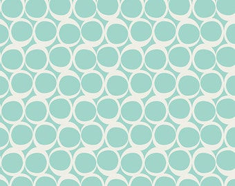 Seafoam Swirls in KNIT, Round Elements by AGF Studio for Art Gallery Fabrics 6119