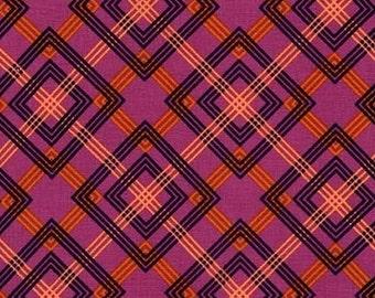 Adirondack in Plum, Rustique by Crazy Old Ladies for Michael Miller Fabrics 2132