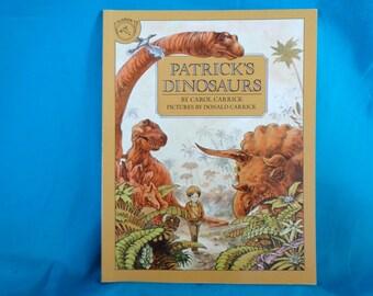 vintage 1983 Patrick's Dinosaurs book by Carol Carrick