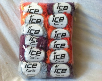 Ice Yarns Destash Lot Marabu Cotton lot of 12