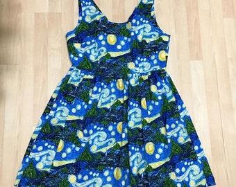 Starry Night Van Gogh Dress