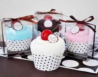 Sweet Treat Towel Cupcakes