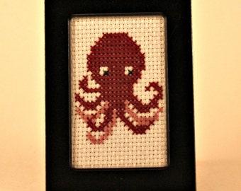 Octopus Cross Stitch