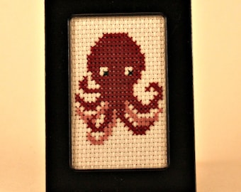 Small Octopus Cross Stitch