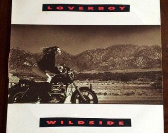 "Loverboy's ""WildsIde"" vinyl record"