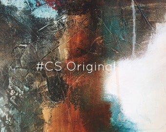 """CS Original Abstract Print titled """"Dust to Dust"""""""