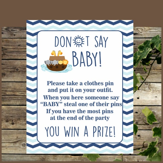 baby shower game printable noah 39 s ark clothes pin game baby shower