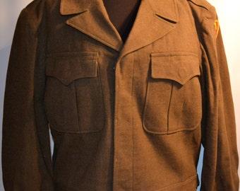 Green Wool Uniform