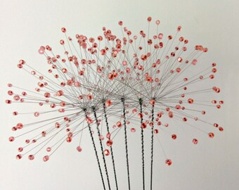 Dandelion Wire Flower Decoration