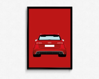 Audi RS6 A3 Print