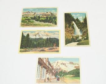 1930's Mt. Rainier National Park Post Cards
