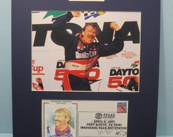 NASCAR Great - Dale Jarrett Wins the 1996 Daytona 500 & Commemorative Cover for Dale Jarrett