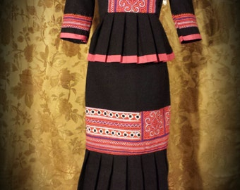 New Hmong Formal style dress.