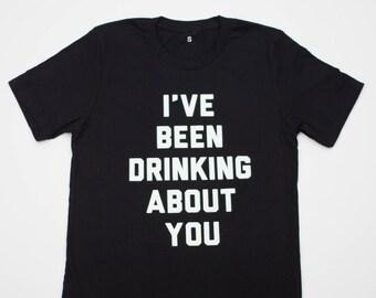 "Creature of Habit ""I've been drinking"" t-shirt (unisex)"
