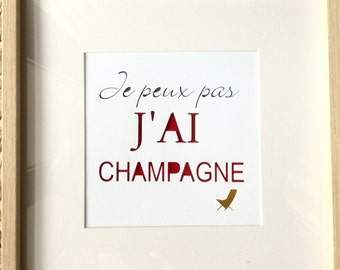 Paper cut Champagne table