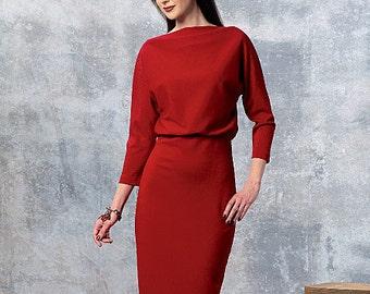 Vogue Sewing Pattern V1460 Misses' Dress