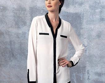 Vogue Pattern V1463 Misses' Top and Shirt