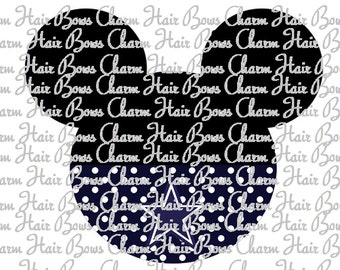 Minnie Mouse Dallas Cowboys iron on digital file