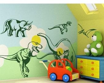 einzigartige artikel zum thema dinosaurier schablone etsy. Black Bedroom Furniture Sets. Home Design Ideas