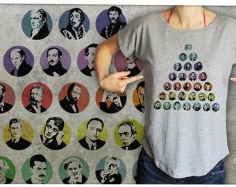 Hungarian poets - T-shirt women S-XL -01