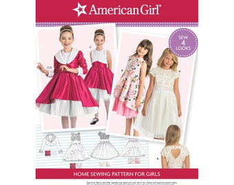 Simplicity Pattern 8283 Child's Dress and Lined Jacket