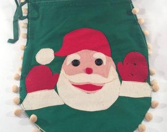 Vintage Kitsch Santa Claus Toilet Seat Cover